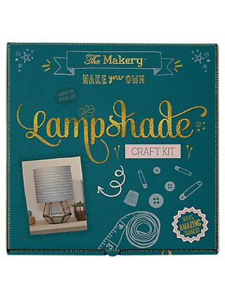 The Makery Make Your Own Lampshade Craft Kit