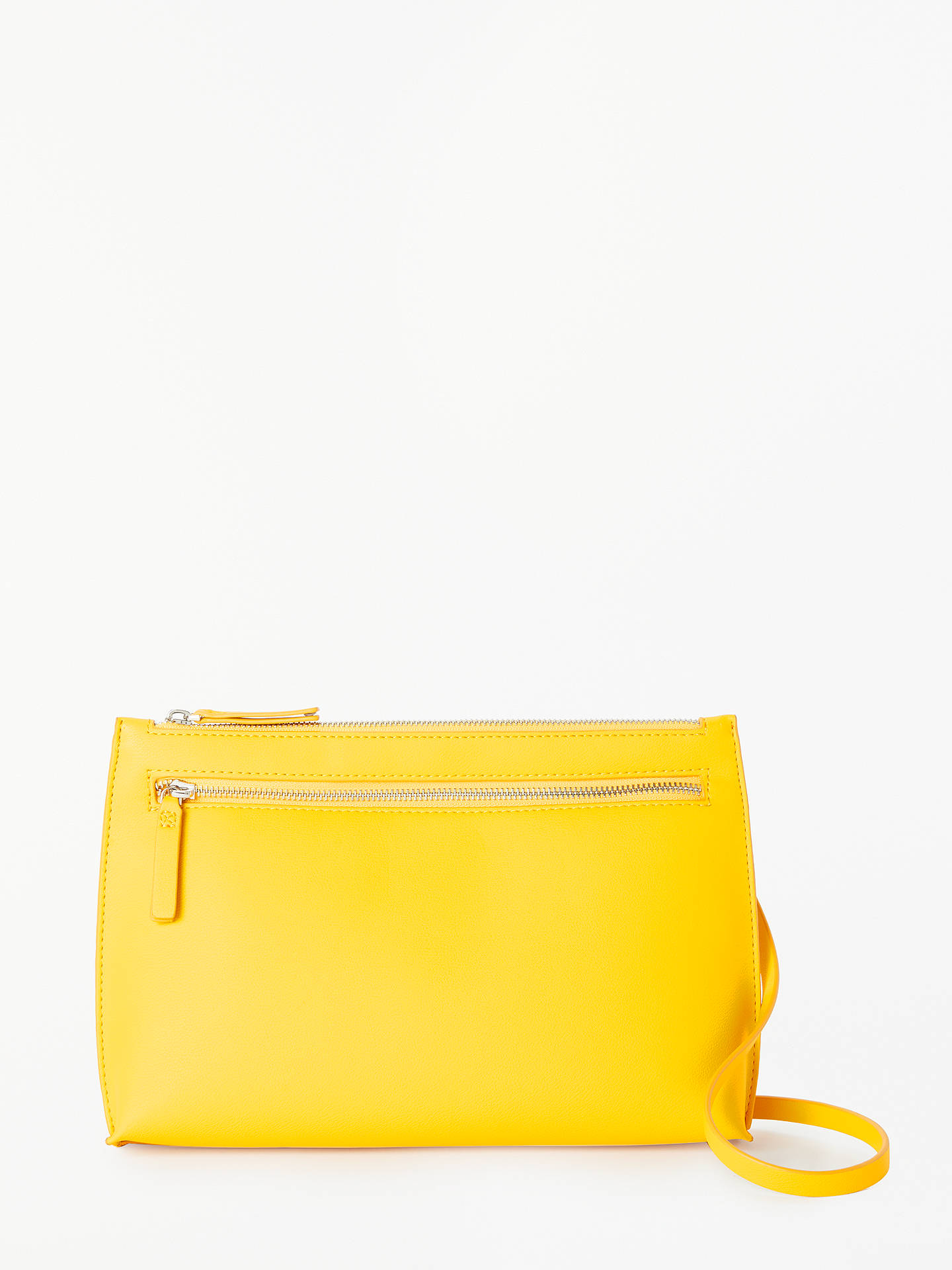 BuyKin Sia Cross Body Clutch Bag, Yellow Online at johnlewis.com