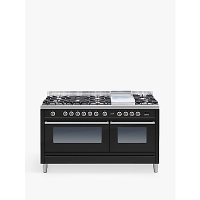 Image of ILVE Roma PW150FE3 150cm Dual Fuel Range Cooker, A Energy Rating,
