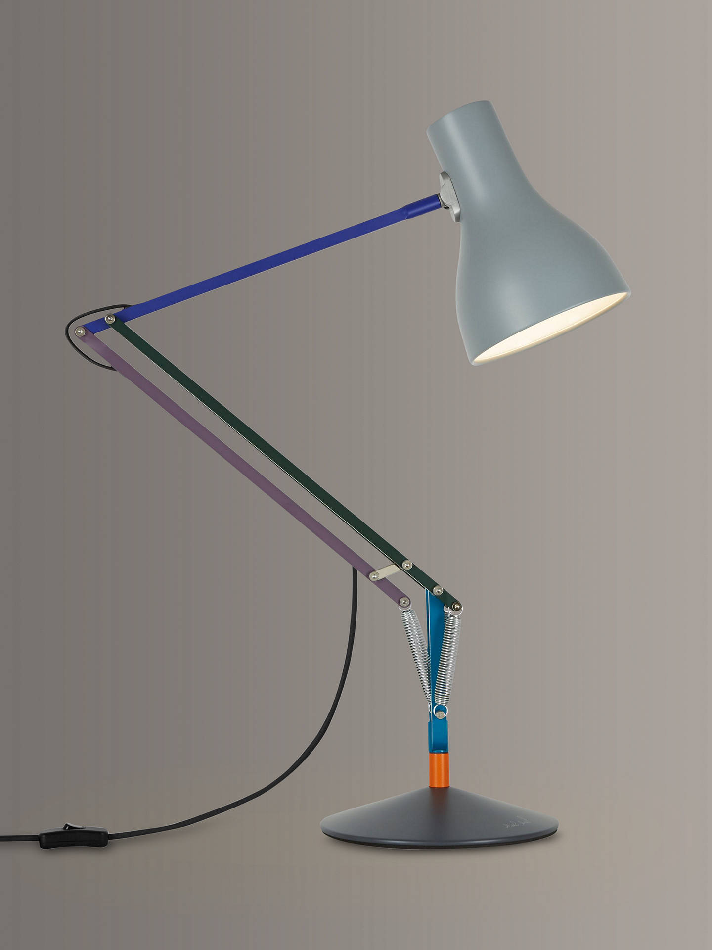 BuyAnglepoise + Paul Smith Type 75 Desk Lamp, Edition 2 Online at johnlewis.com