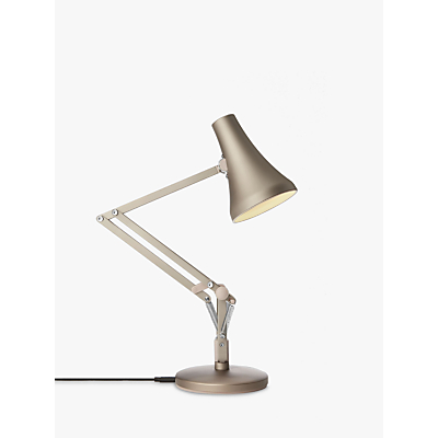 Image of Anglepoise 90 Mini Mini LED Desk Lamp, Blush Silver