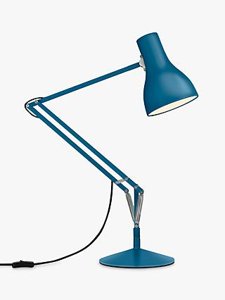 Anglepoise Type 75 Margaret Howell Edition Desk Lamp, Saxon Blue