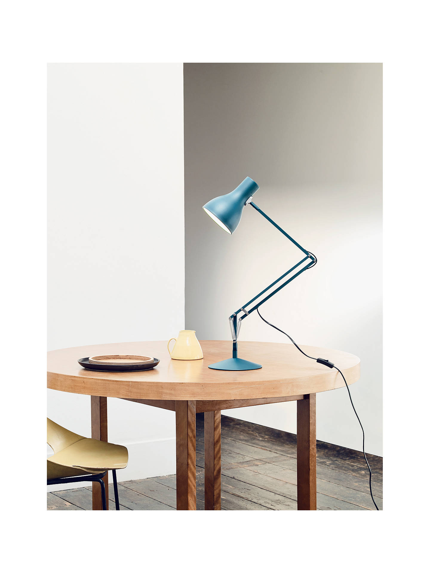 BuyAnglepoise Type 75 Margaret Howell Edition Desk Lamp, Saxon Blue Online at johnlewis.com