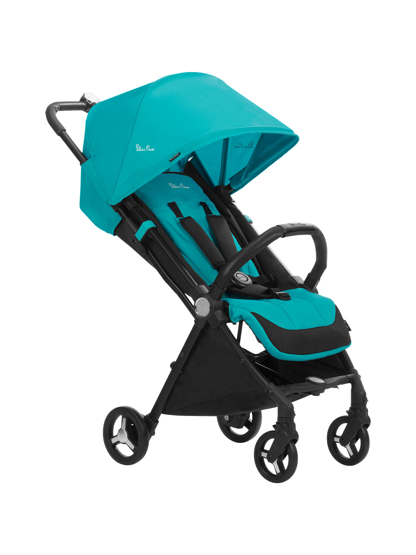 BuySilver Cross Jet Stroller, Bluebird Online at johnlewis.com