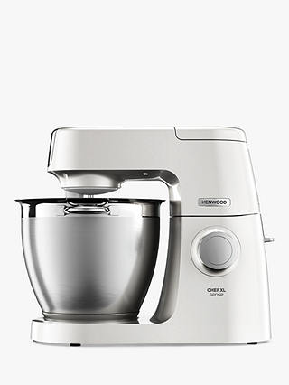 Buy Kenwood KQL6100Z Chef XL Sense Special Edition Food Mixer, Pearl Online at johnlewis.com