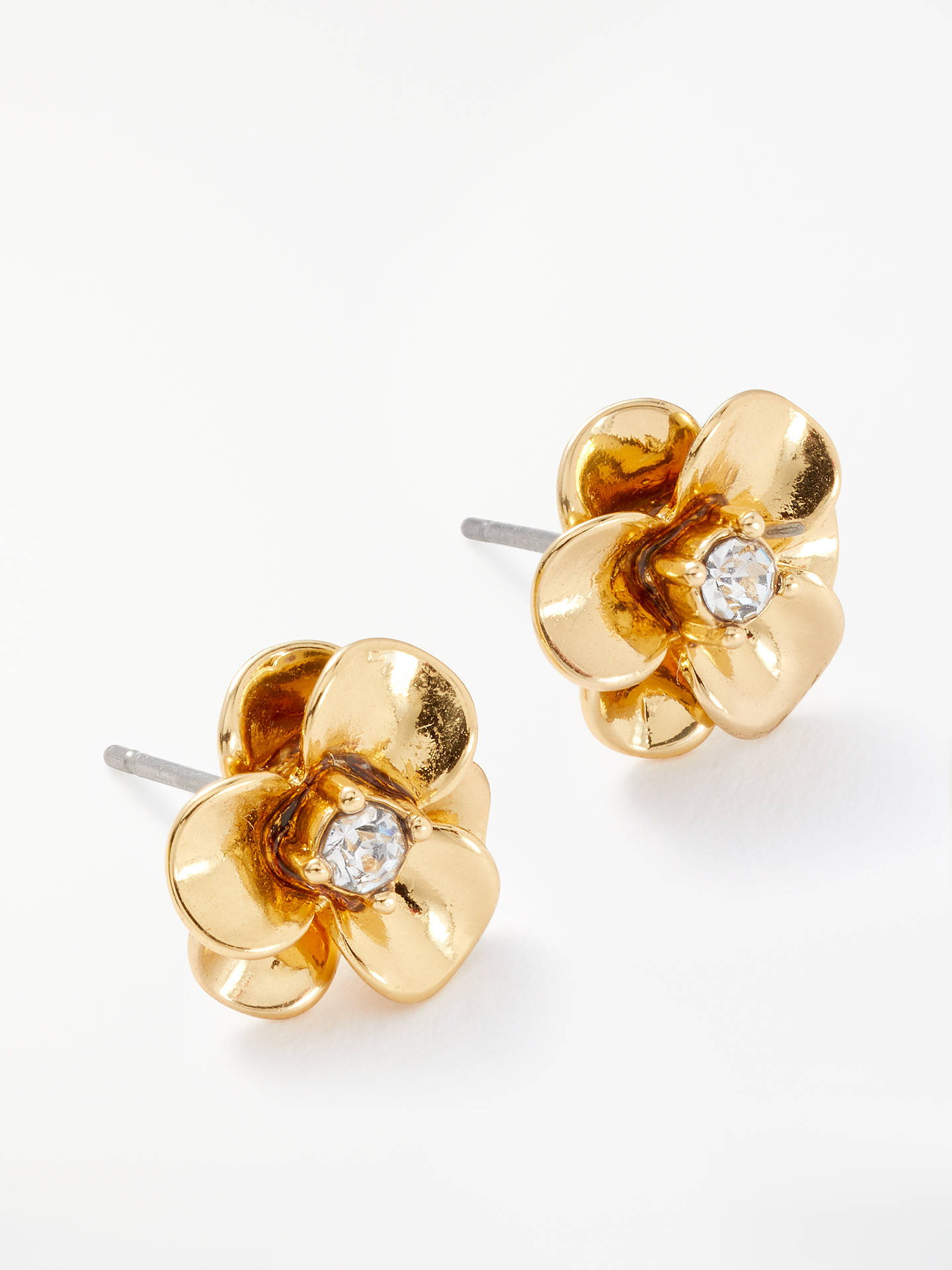 bcd1f2234 Buy kate spade new york Flower Stud Earrings, Gold Online at johnlewis.com  ...