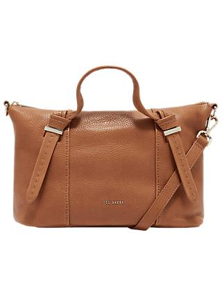 Ted Baker Olmia Knotted Handle Small Leather Tote Bag