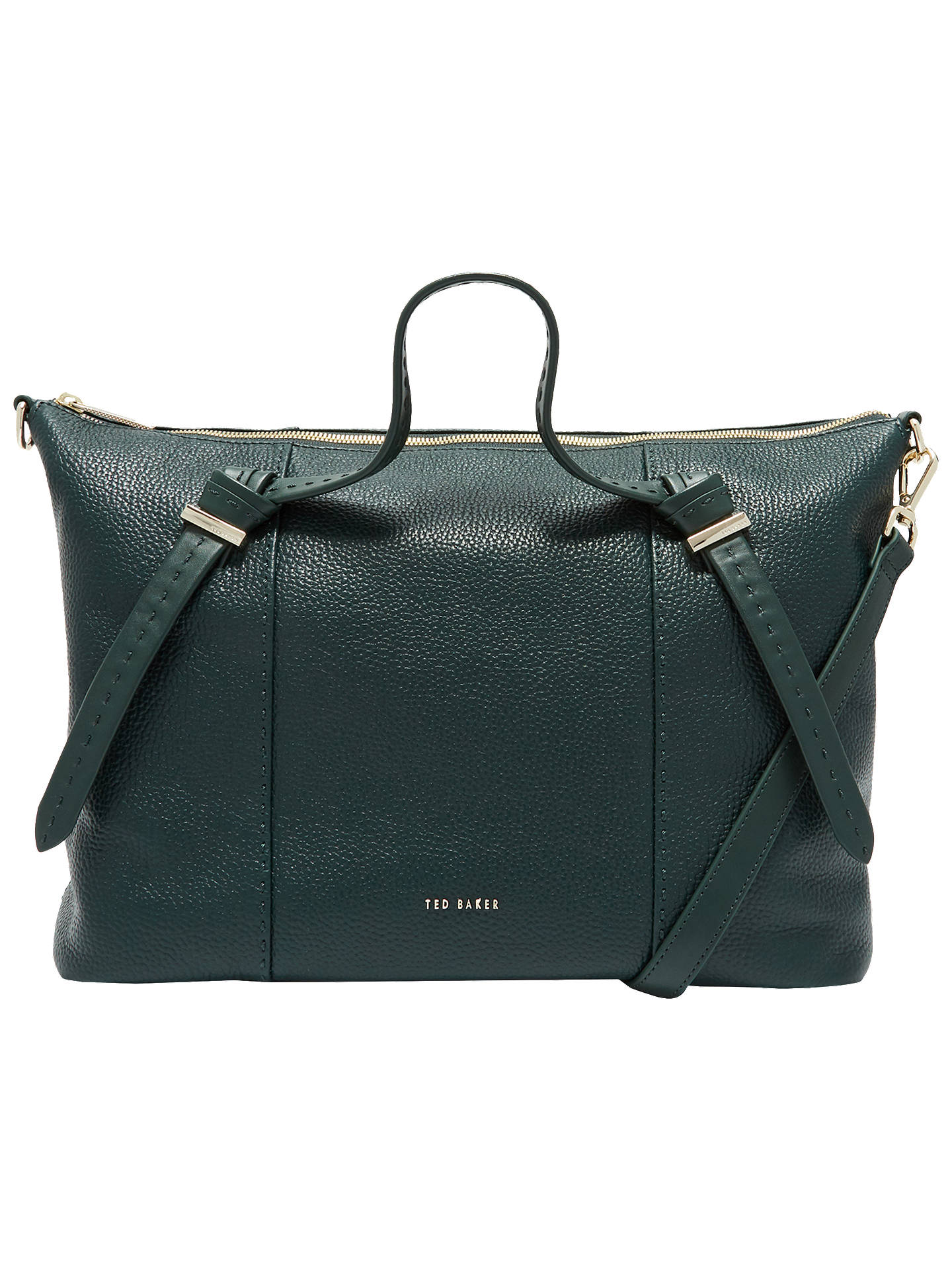 e0d3222c8d1ddd Buy Ted Baker Oellie Knotted Handle Large Leather Tote Bag