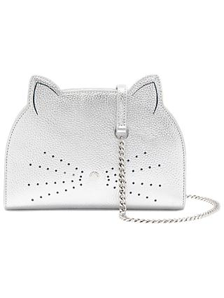Ted Baker Kirstie Feline Leather Cross Body Bag