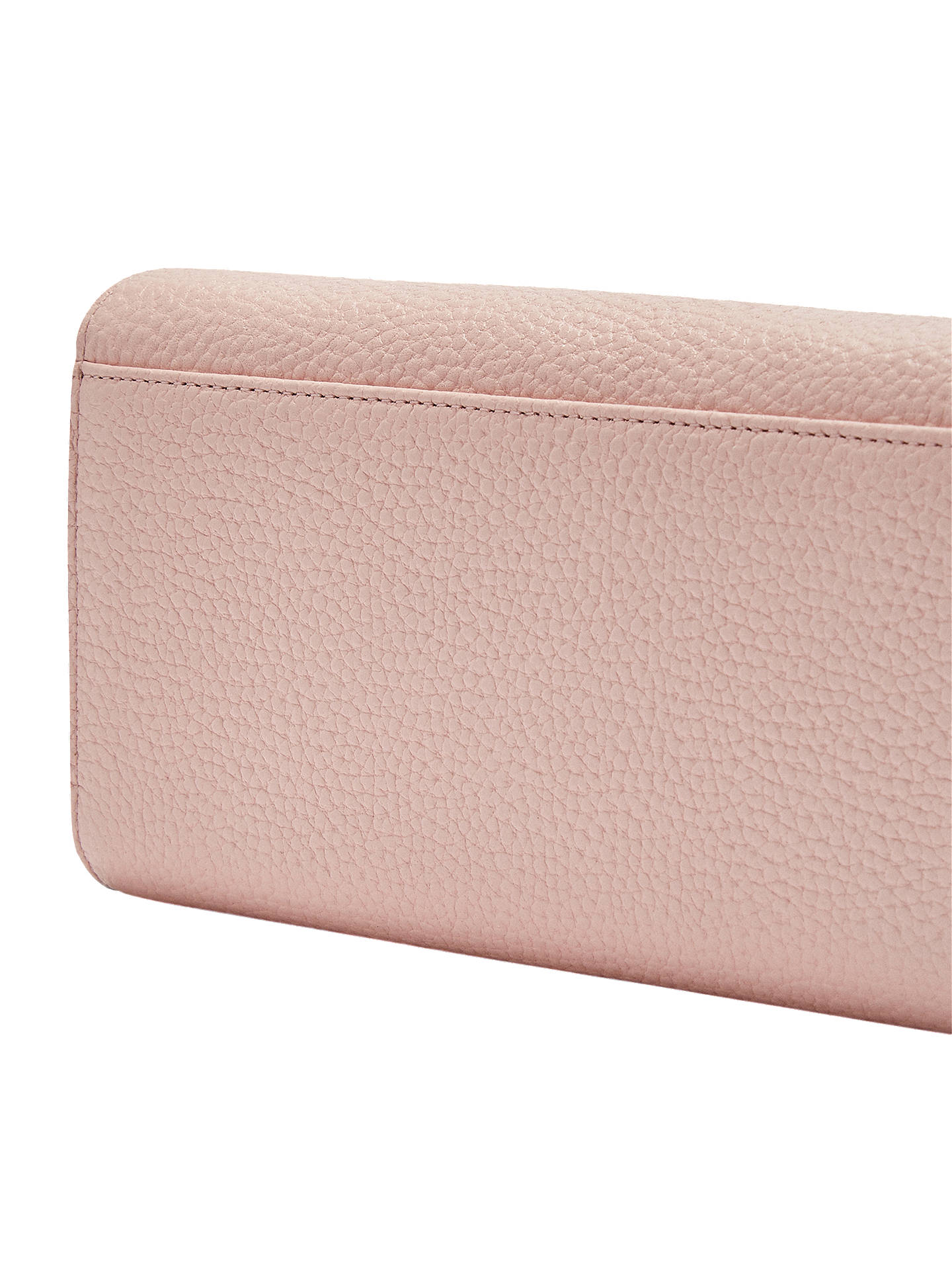 BuyTed Baker Fiola Leather Cross Body Bag, Pink Online at johnlewis.com