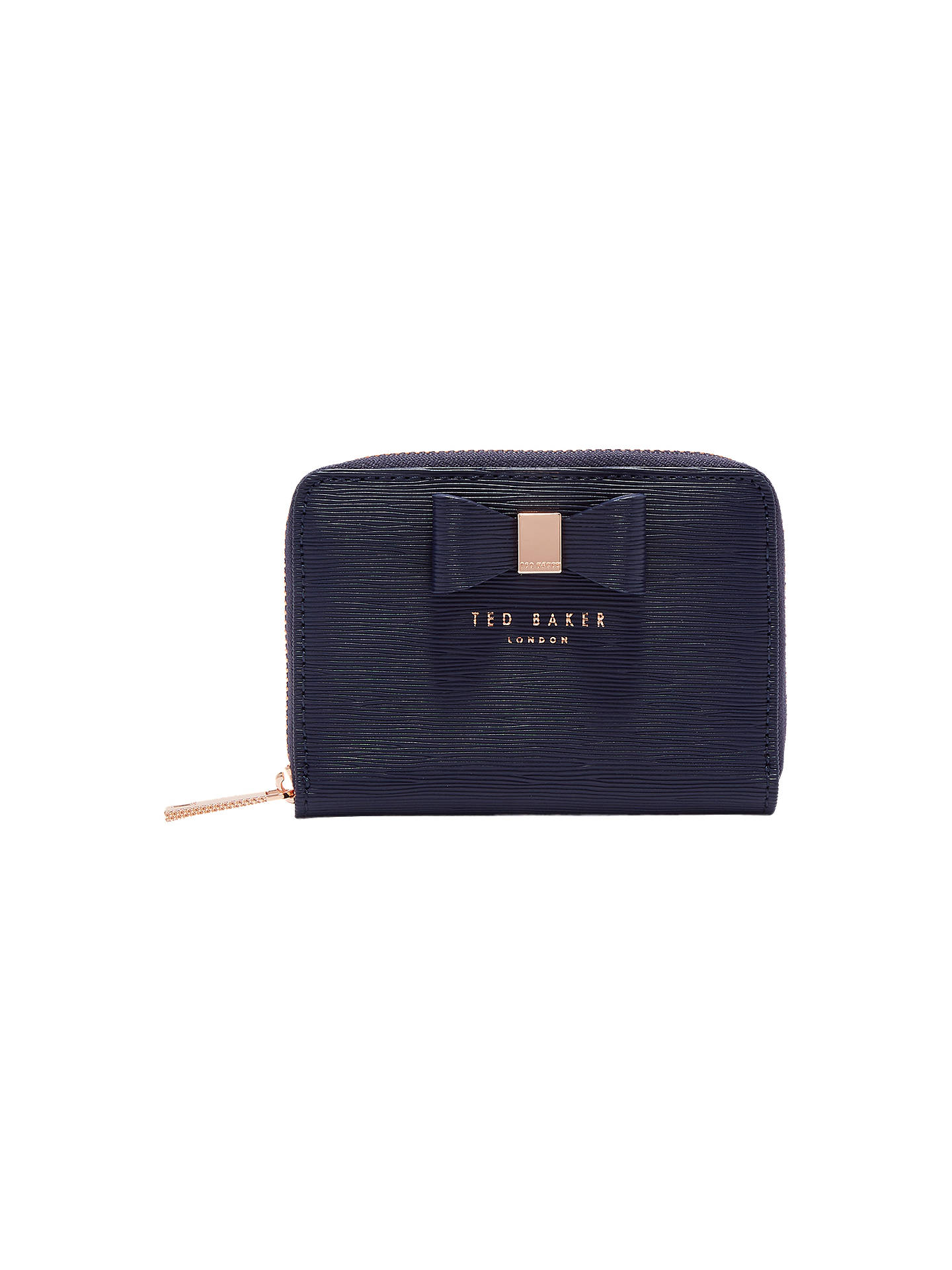 1a18d4c90 Buy Ted Baker Aureole Bow Zip Around Leather Purse