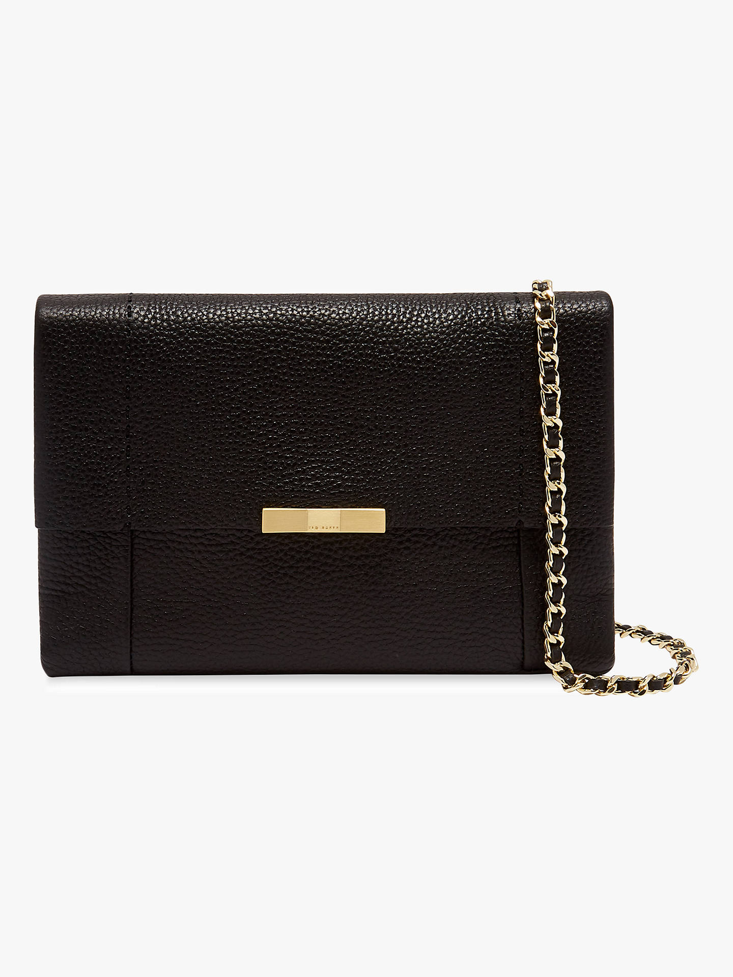 682cb0c32 Ted Baker Clarria Leather Cross Body Bag at John Lewis   Partners