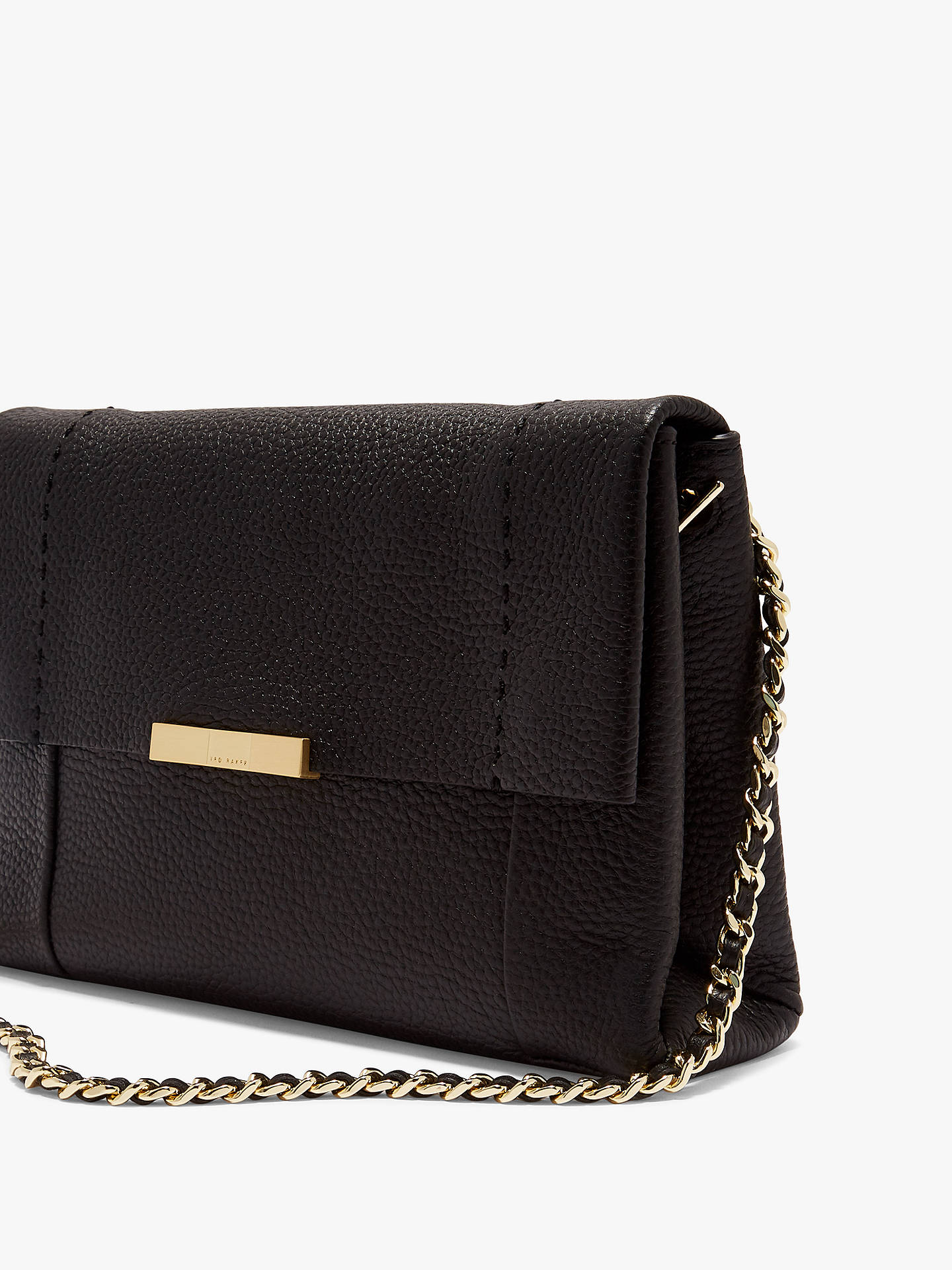 5ea053697631 Ted Baker Clarria Leather Cross Body Bag at John Lewis   Partners