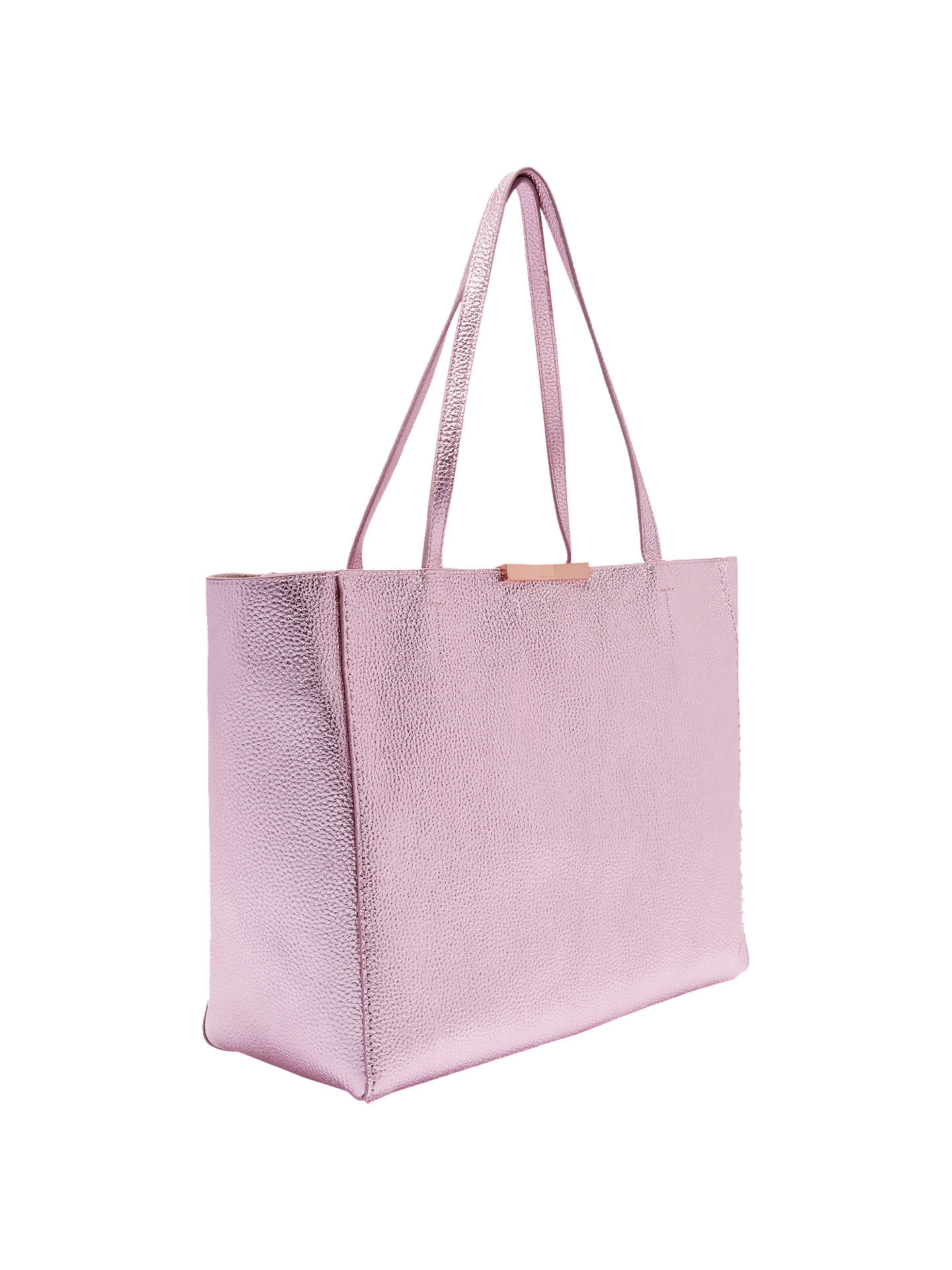 09cc05ea37 ... Buy Ted Baker Criesia Leather Metallic Tote Bag
