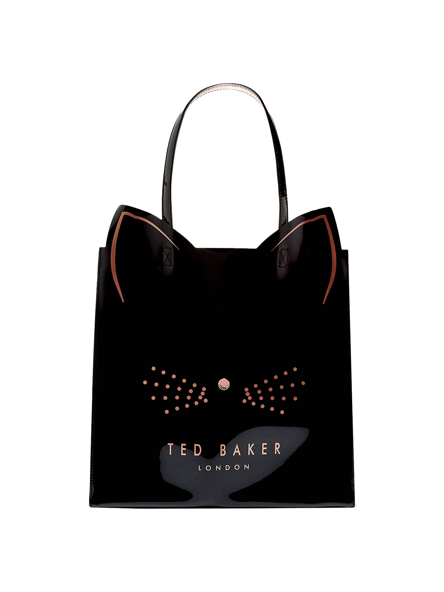 0ee09893ce579b Buy Ted Baker Felicon Cat Large Icon Shopper Bag