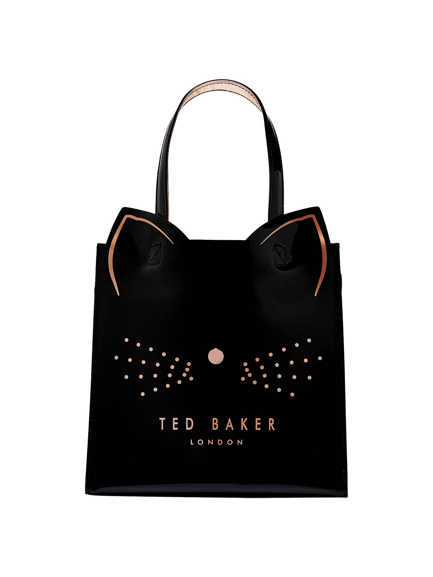 Ted Baker Zazicon Cat Small Icon Per Bag Black Online At Johnlewis