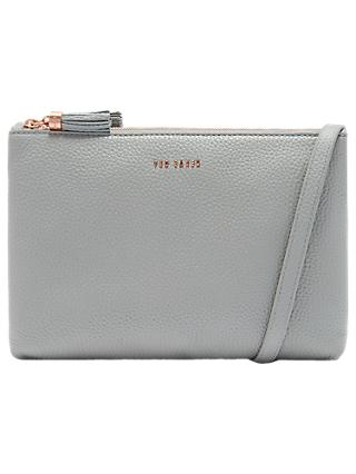 971b0d920679 Ted Baker Maceyy Leather Double Zip Cross Body Bag