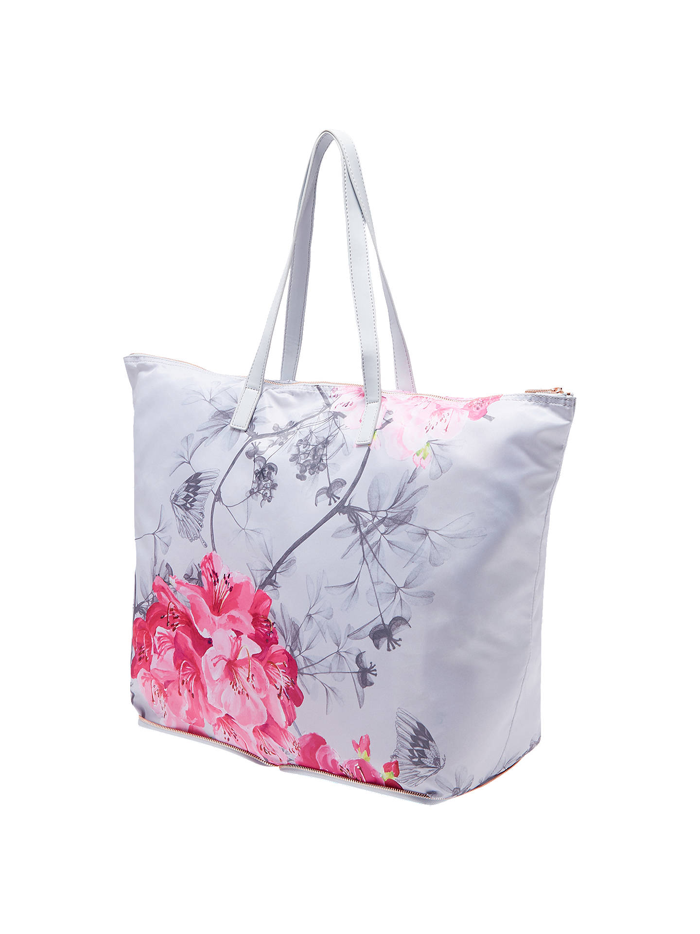 3a4ef7ce074ea0 ... Buy Ted Baker Rowena Babylon Print Foldaway Shopper Bag