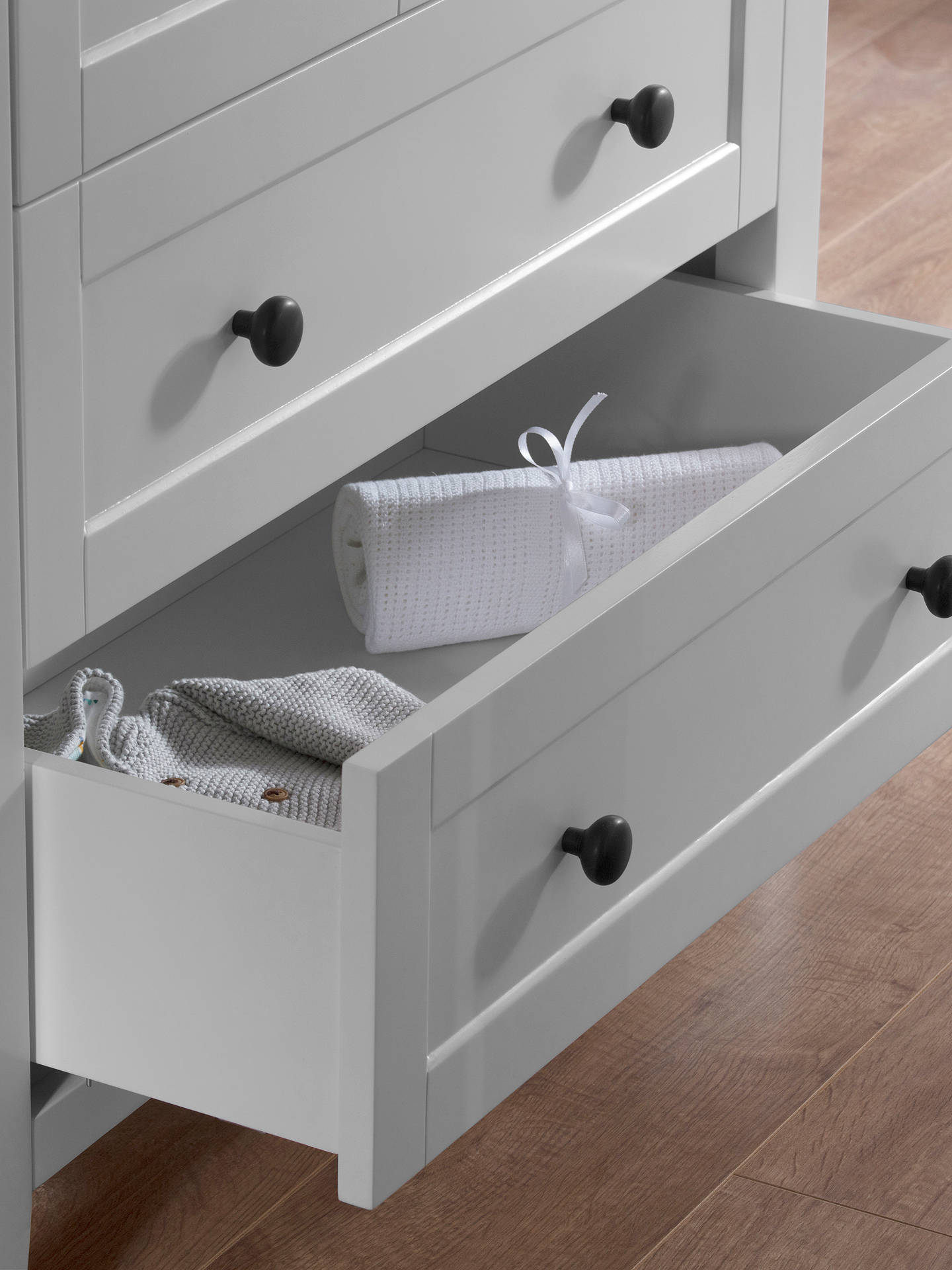 Buy Silver Cross Nostalgia Dresser, Dove Grey Online at johnlewis.com