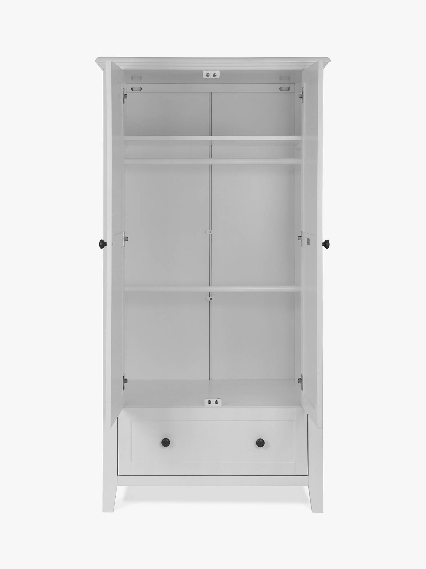 BuySilver Cross Nostalgia Wardrobe, Dove Grey Online at johnlewis.com