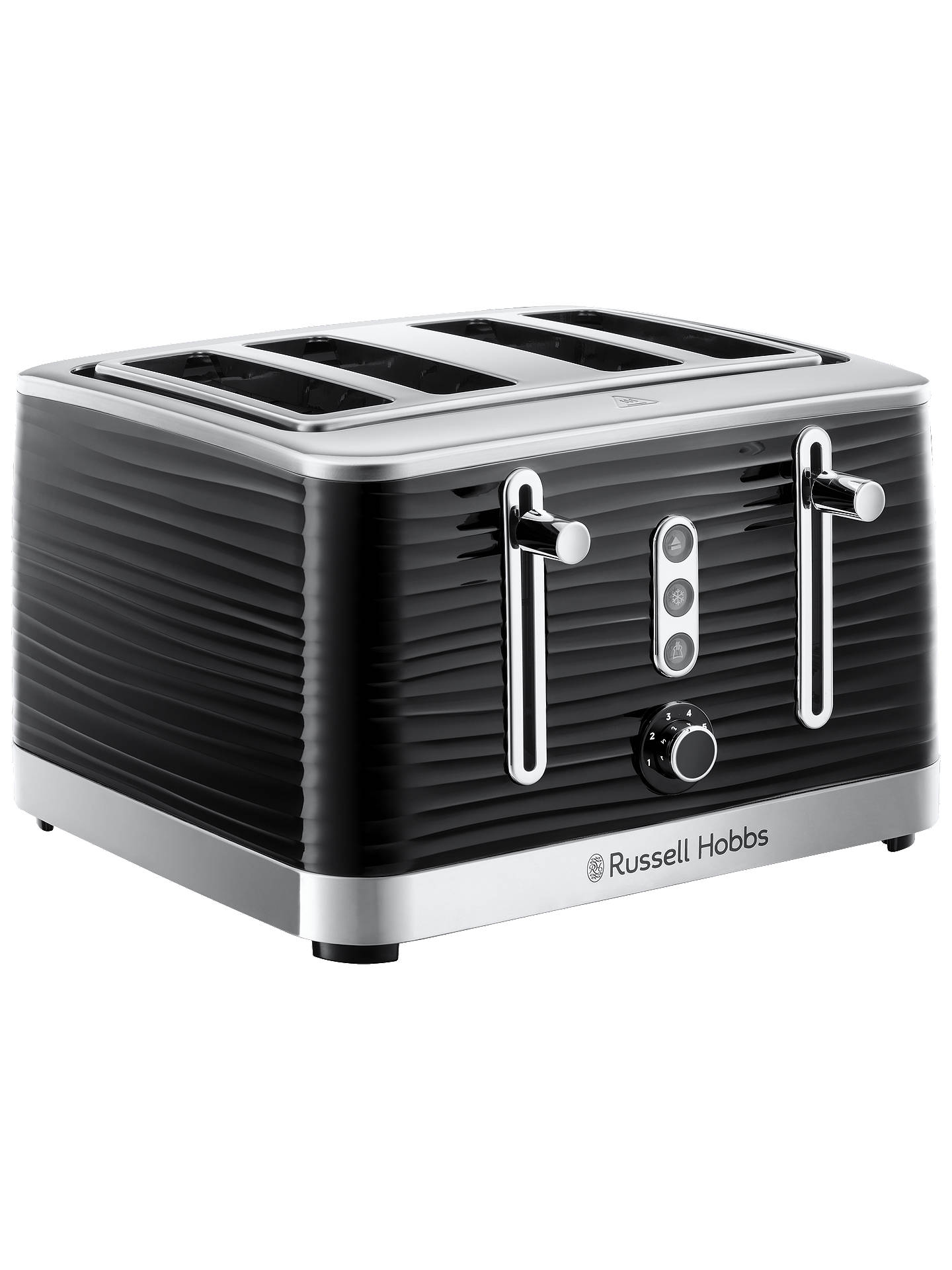 BuyRussell Hobbs Inspire Toaster, Black Online at johnlewis.com