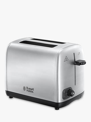 Buy Russell Hobbs Adventure Toaster, Silver Online at johnlewis.com