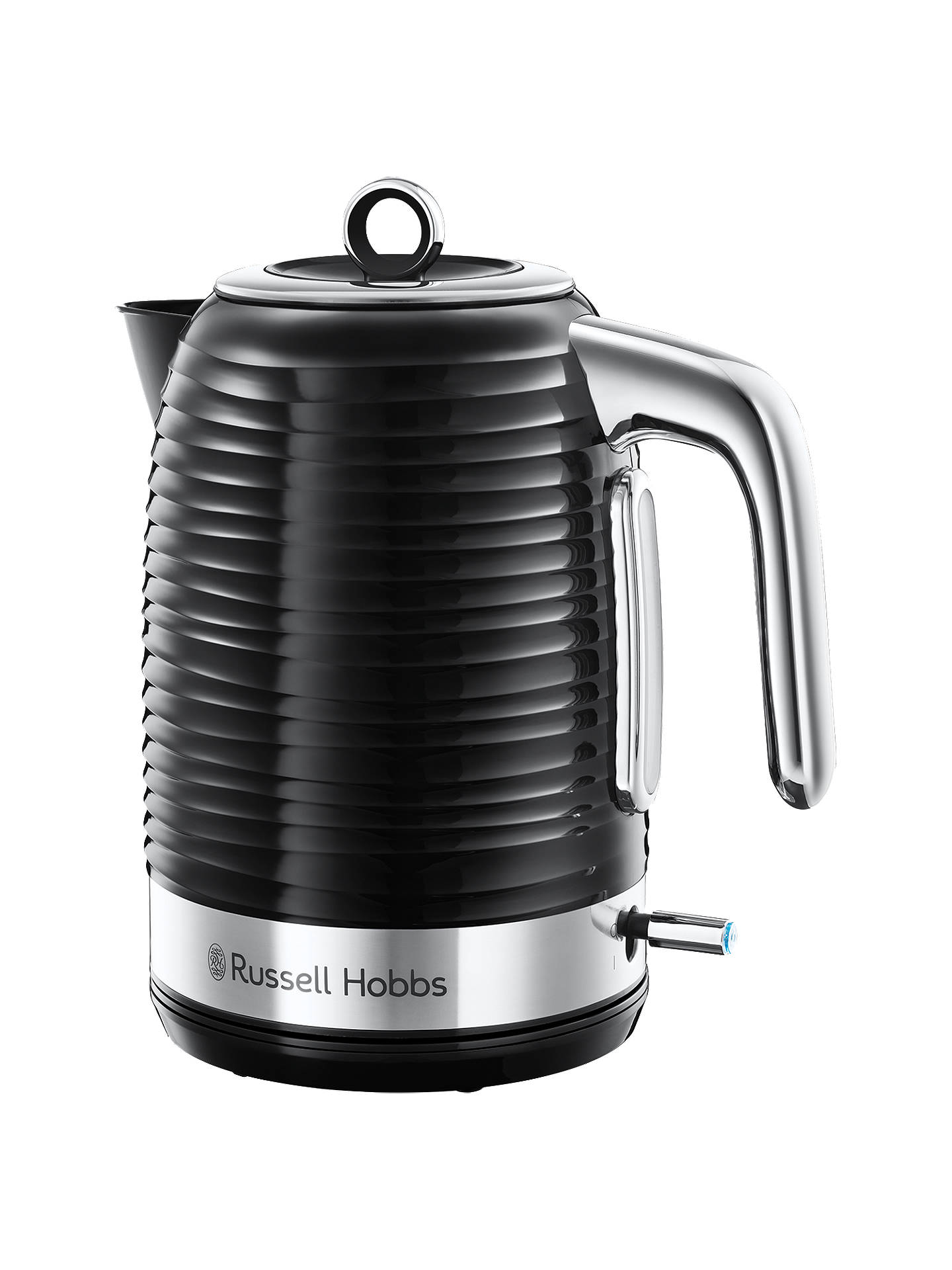Buy Russell Hobbs Inspire Kettle, Black Online at johnlewis.com