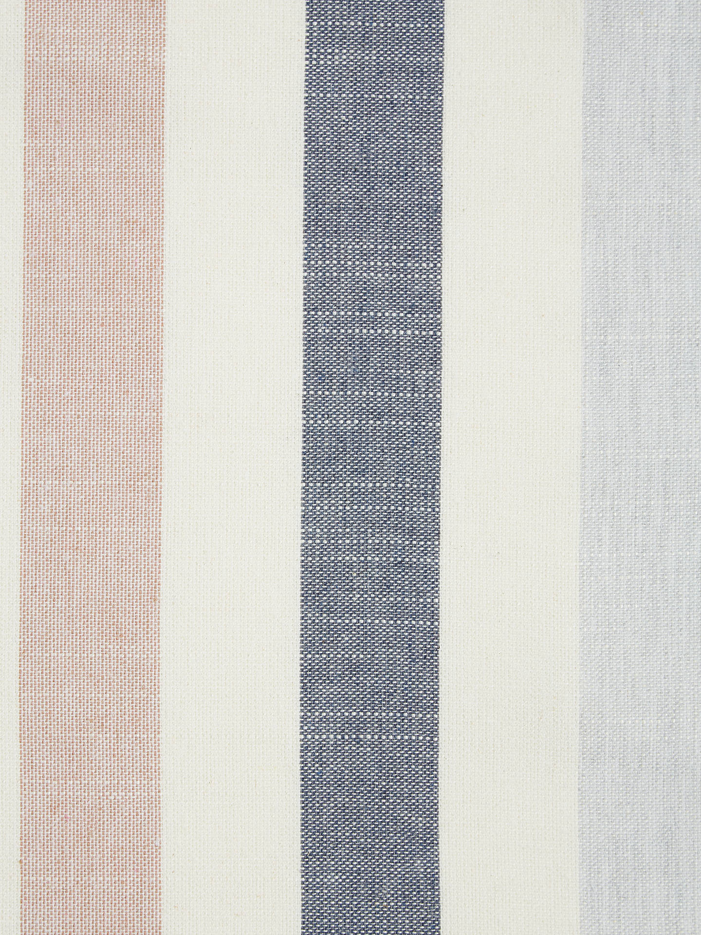 Buy John Lewis & Partners Penzance Stripe Furnishing Fabric, Wisteria Online at johnlewis.com