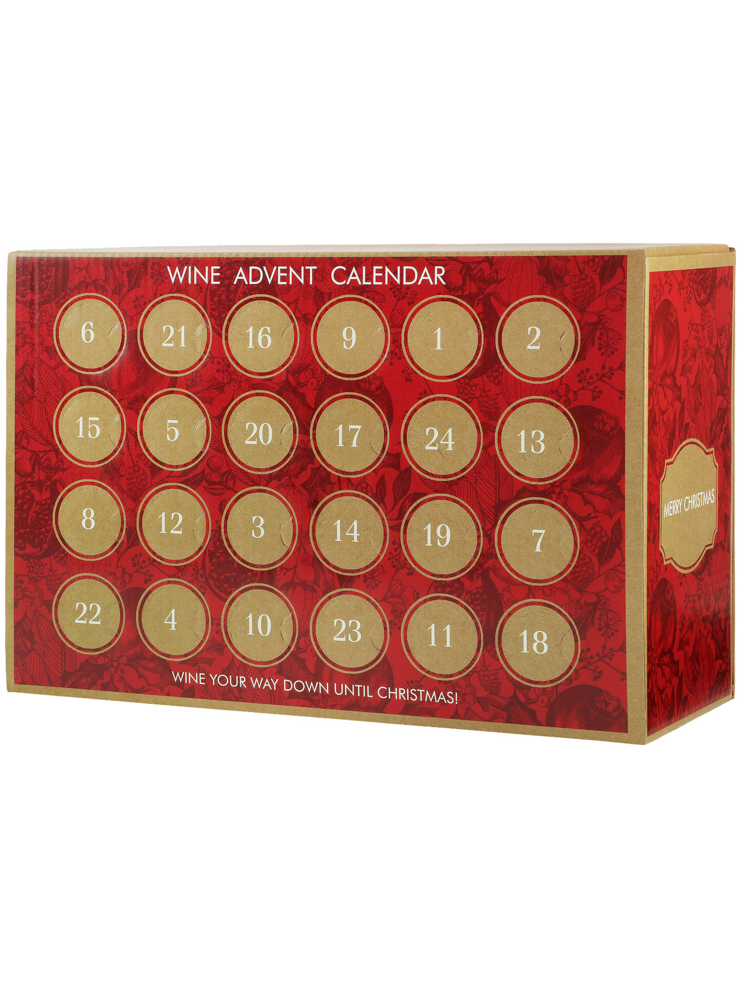 wine advent calendar 4 5l at john lewis partners. Black Bedroom Furniture Sets. Home Design Ideas