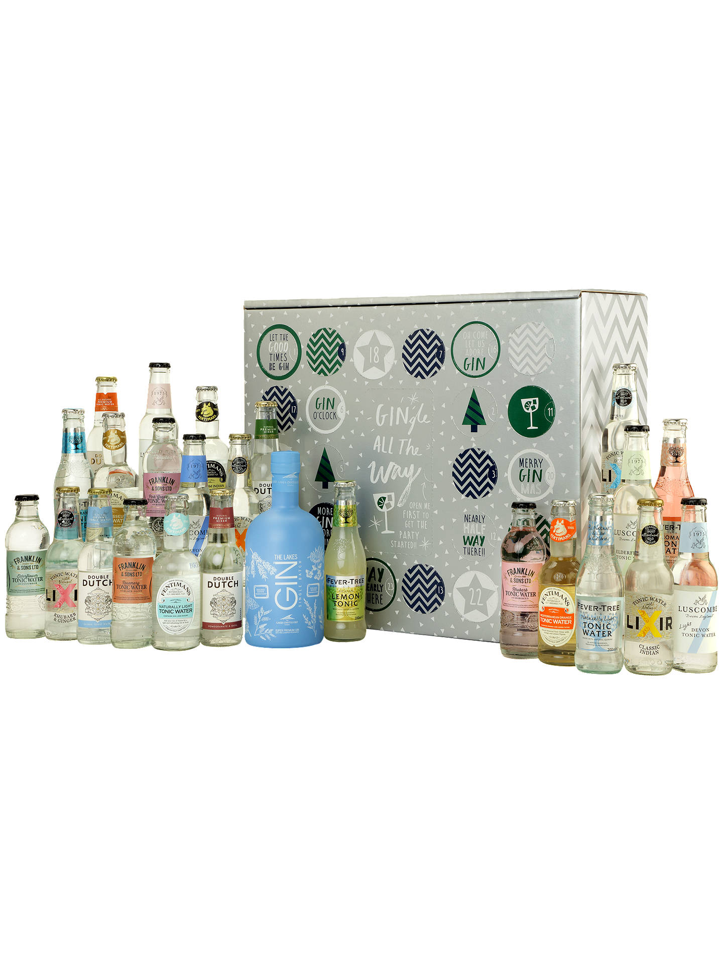 BuyGin & Tonic Advent Calendar, 5.3L Online at johnlewis.com