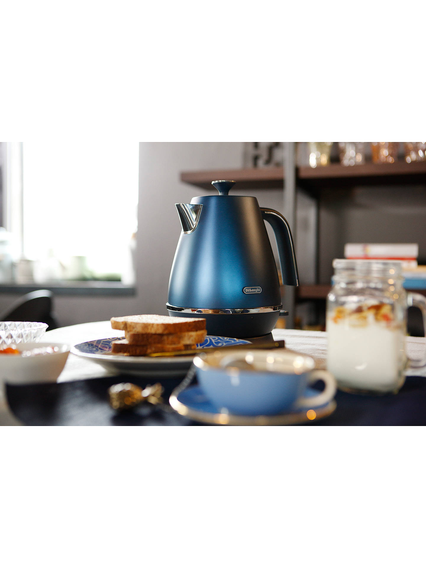 Buy De'Longhi Distinta Flair KBI3001 Kettle, Blue Online at johnlewis.com