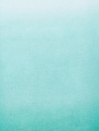 John Lewis & Partners Ombre Voile Fabric, Blue
