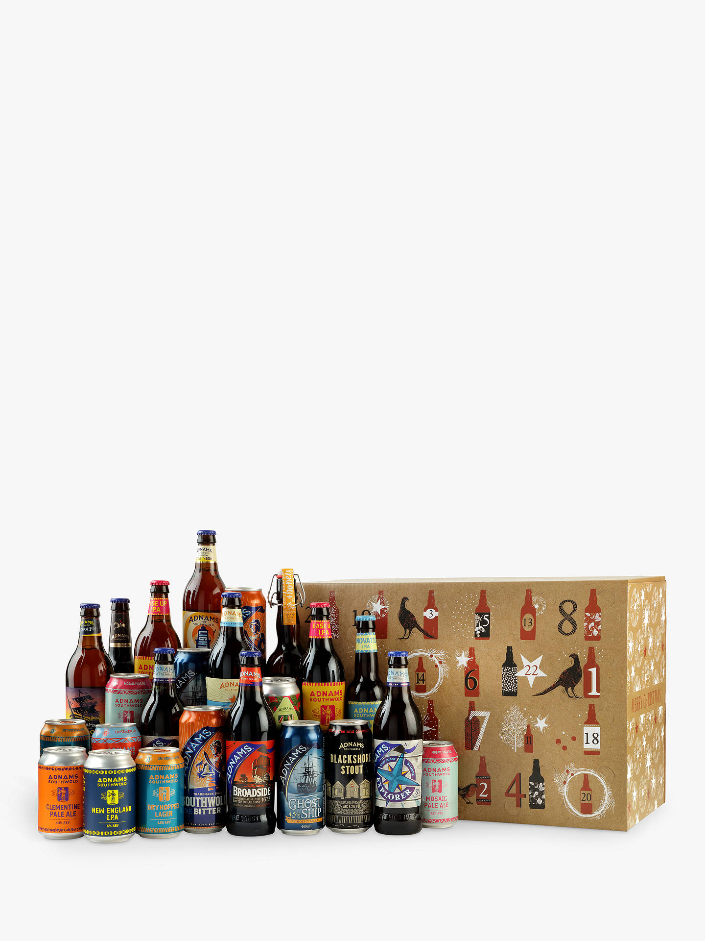 BuyBeer Advent Calendar, 9.9L Online at johnlewis.com