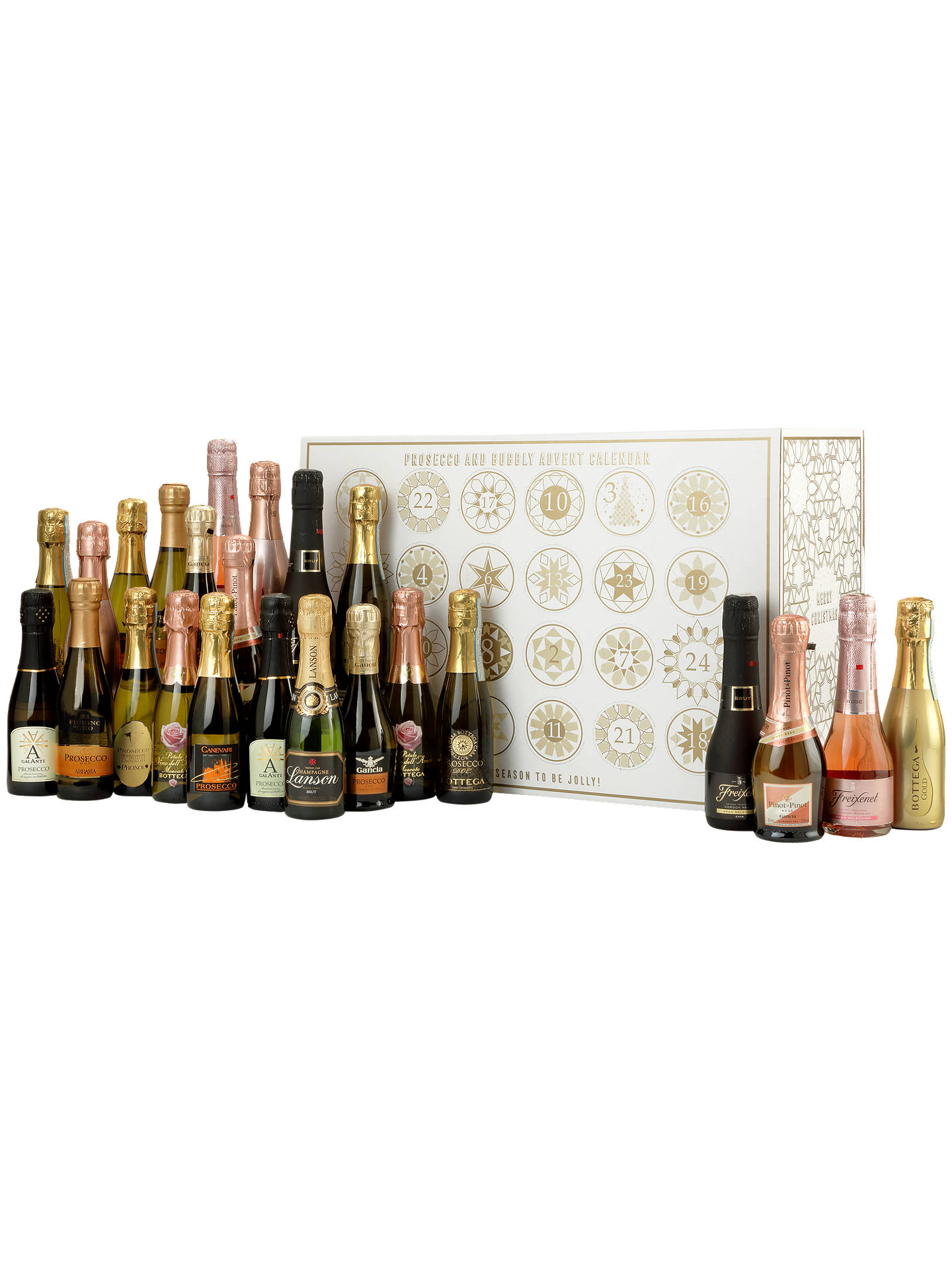 prosecco fizz advent calendar 4 8l at john lewis partners. Black Bedroom Furniture Sets. Home Design Ideas