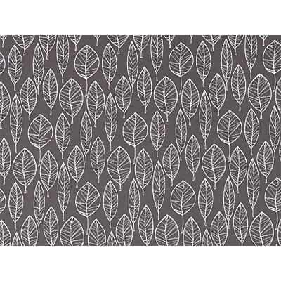 John Lewis & Partners Aspen Leaf Furnishing Fabric, Steel