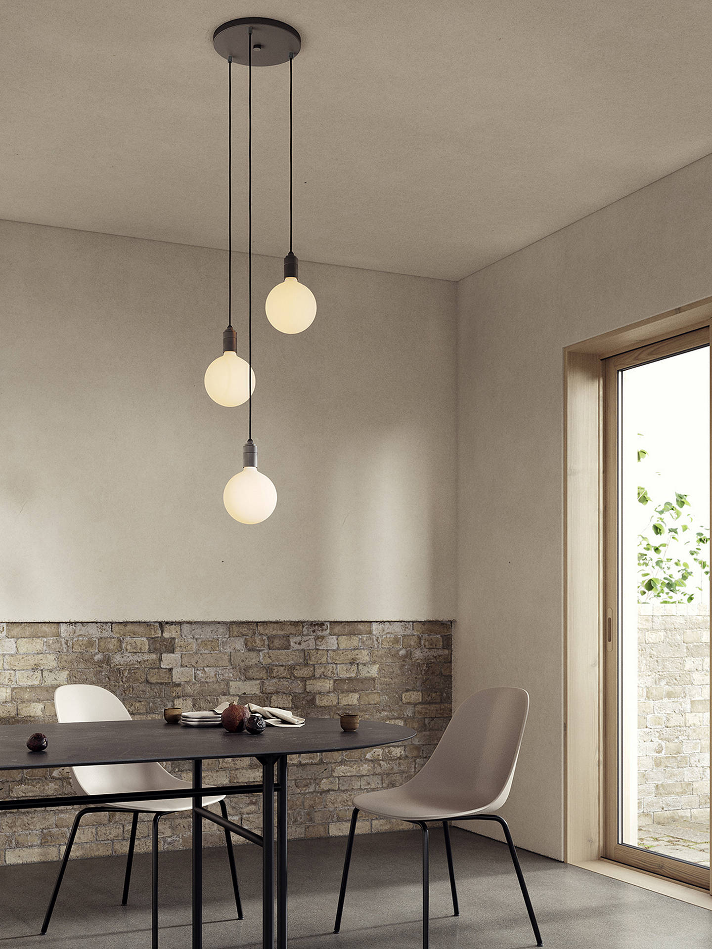 BuyTala LED Ceiling Pendant Cord, Graphite Online at johnlewis.com