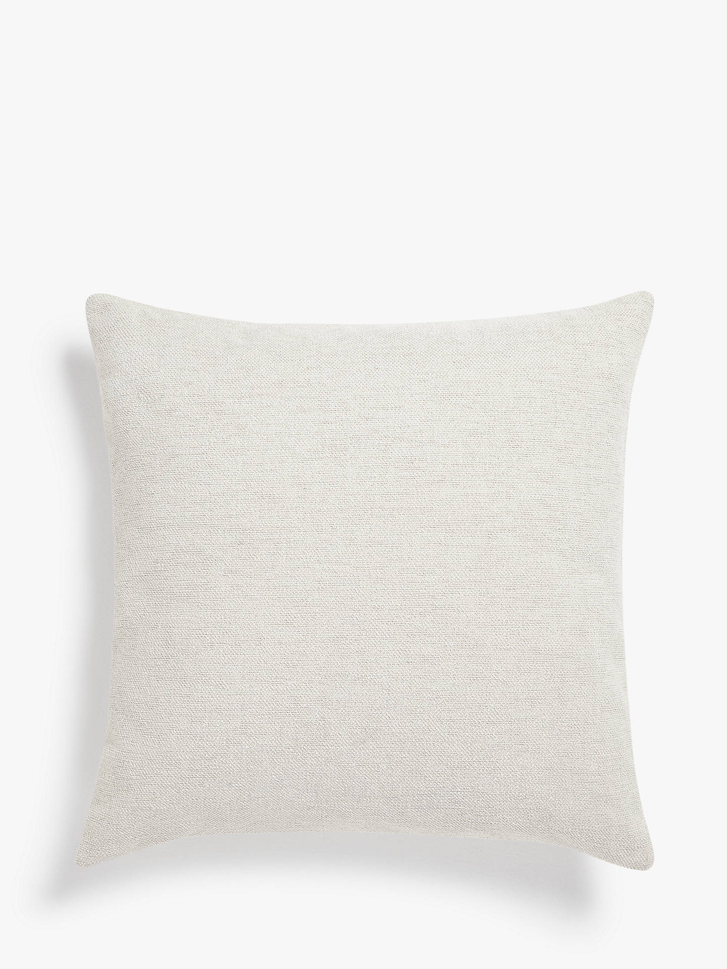 Buy Design Project by John Lewis No.033 Cushion, White Online at johnlewis.com