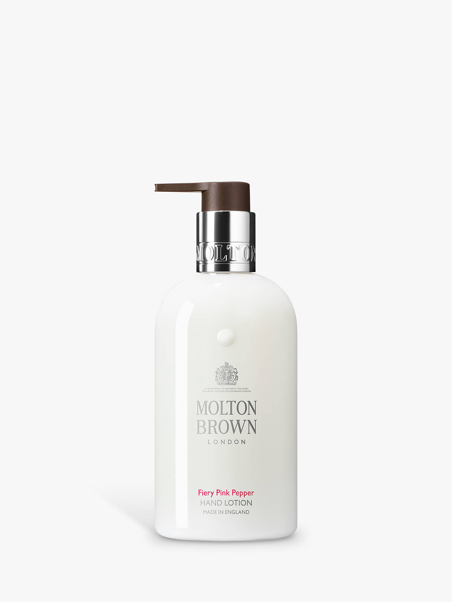 Molton Brown Fiery Pink Pepper Hand Lotion, 300ml
