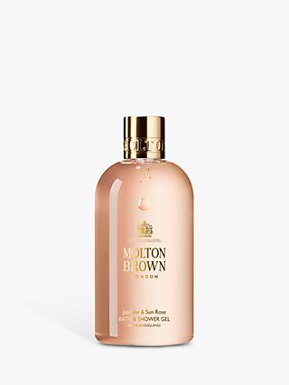 Molton Brown Jasmine & Sun Rose Bath & Shower Gel, 300ml