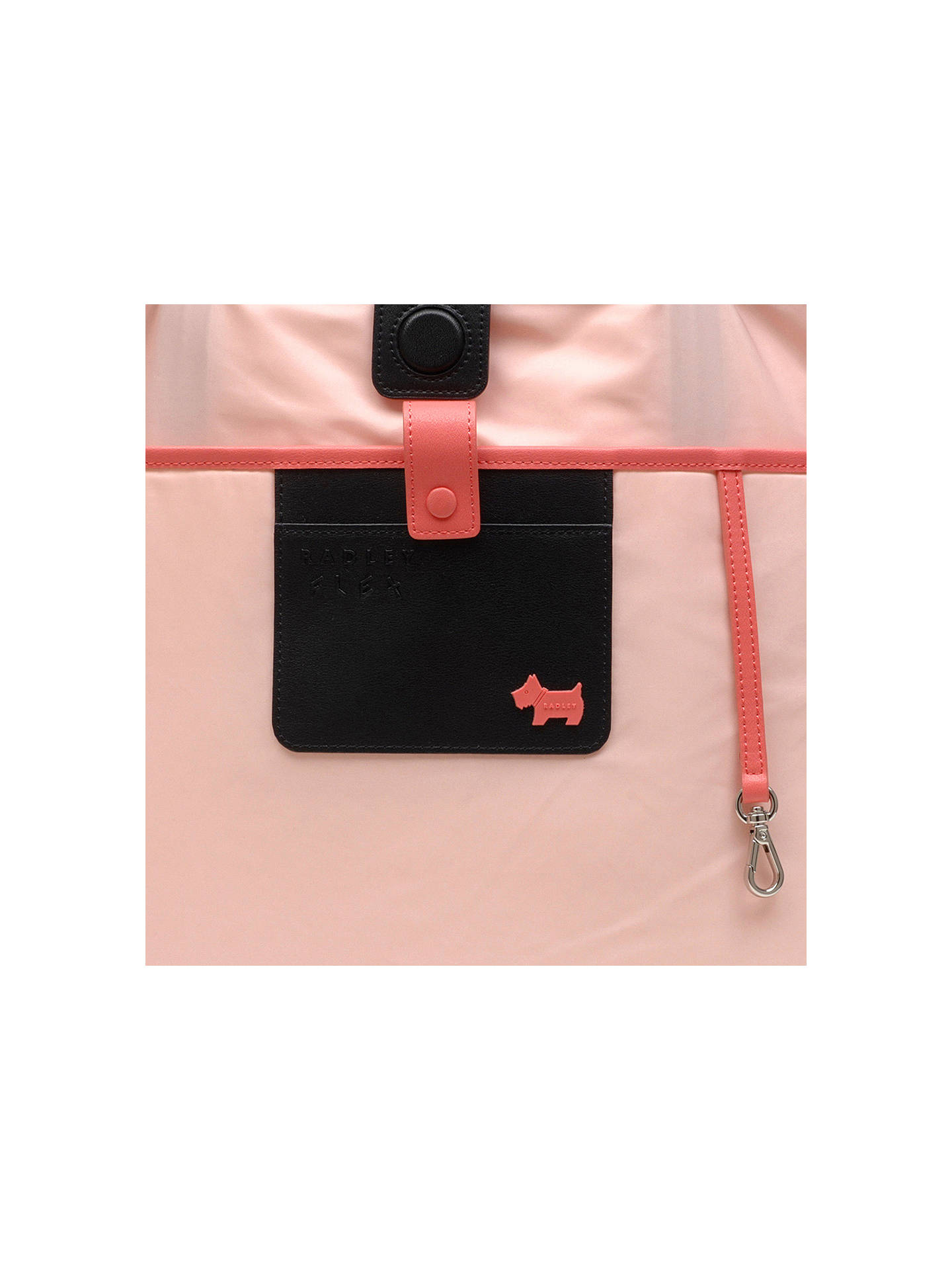 Buy Radley Flex Large East West Tote Bag, Coral Pink Online at johnlewis.com