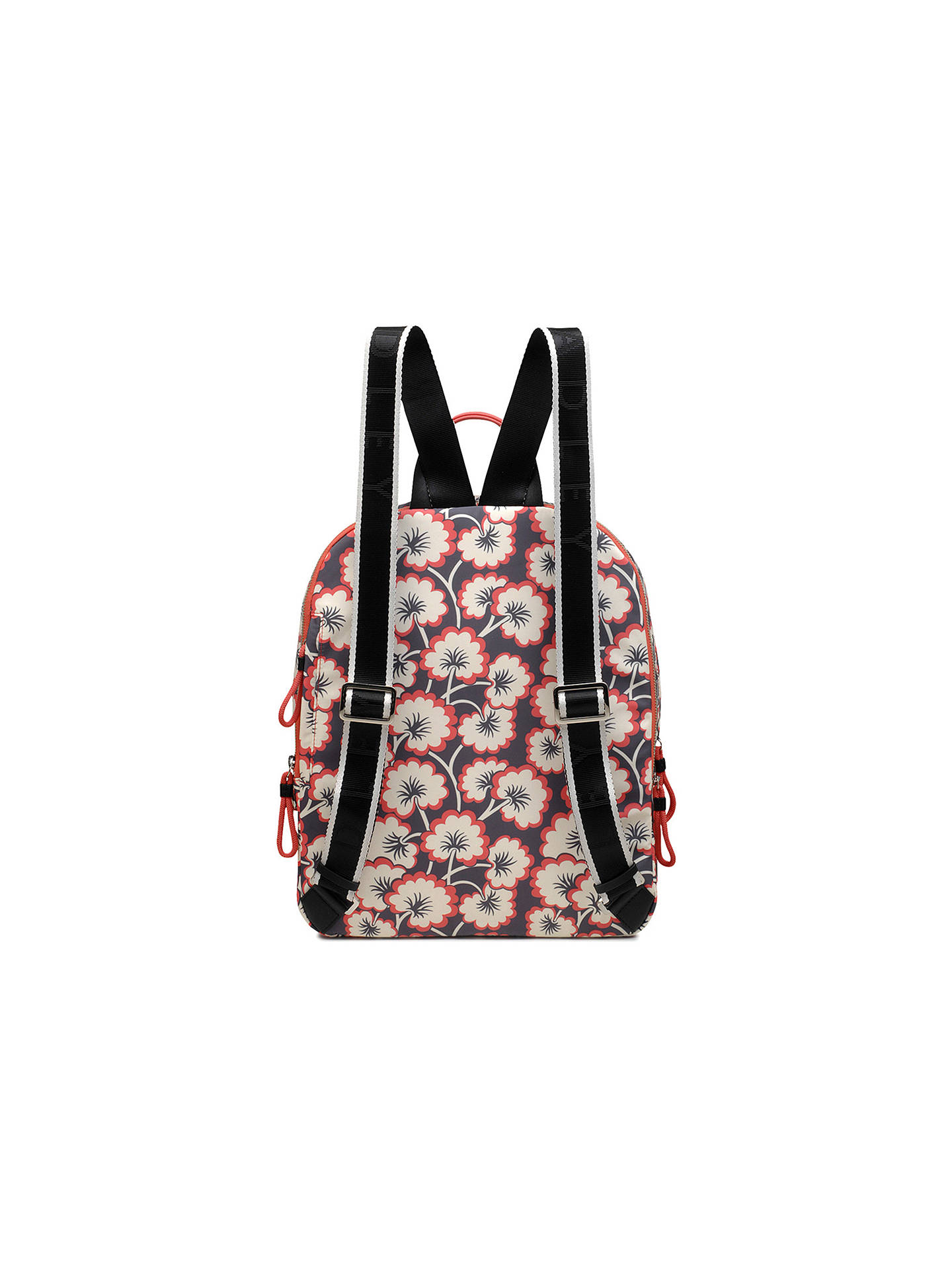 Buy Radley Flex Large Zip Around Backpack, Coral Pink Online at johnlewis.com