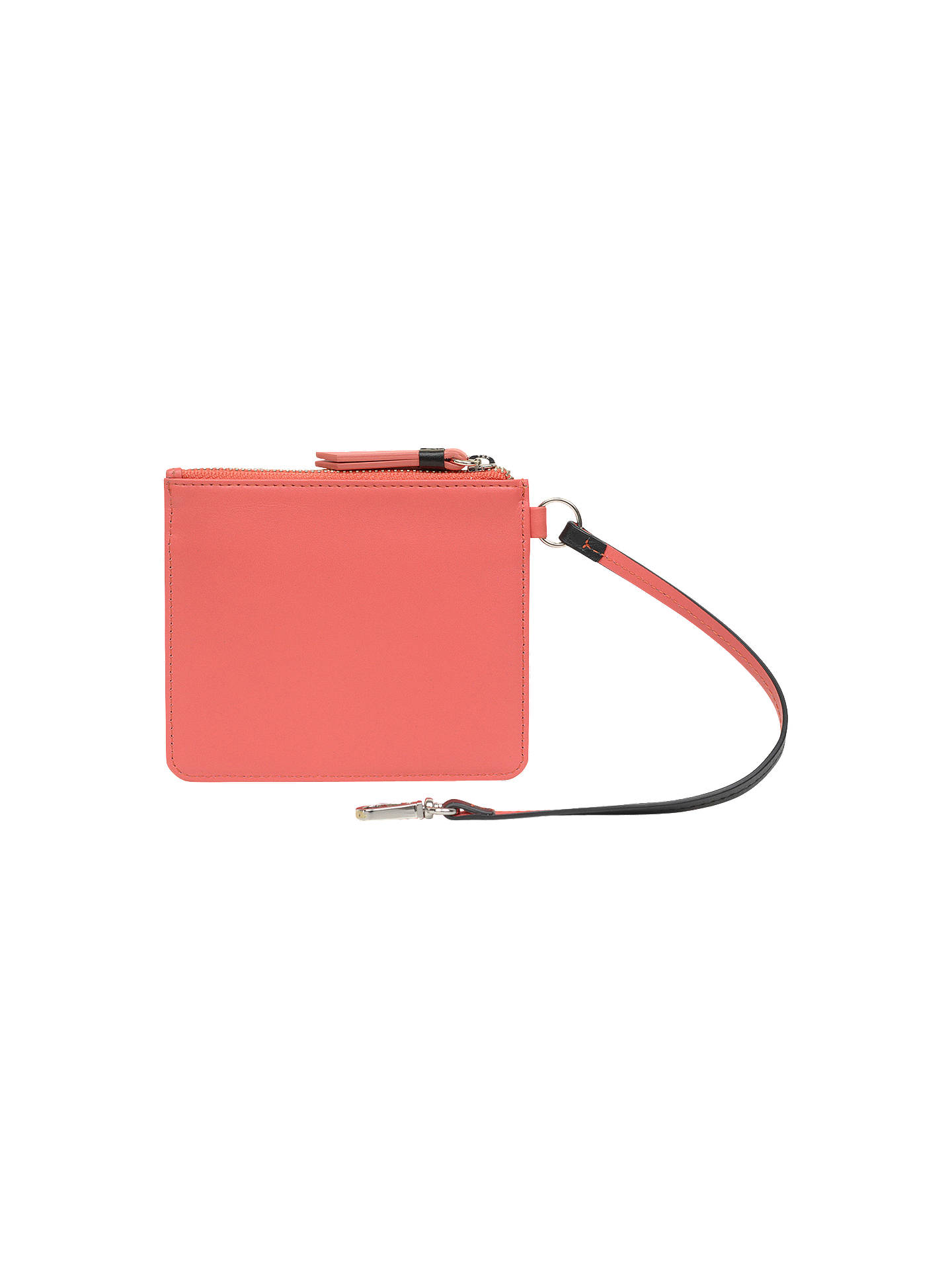 Buy Radley Flex Small Leather Zip Top Coin Purse, Pink Online at johnlewis.com