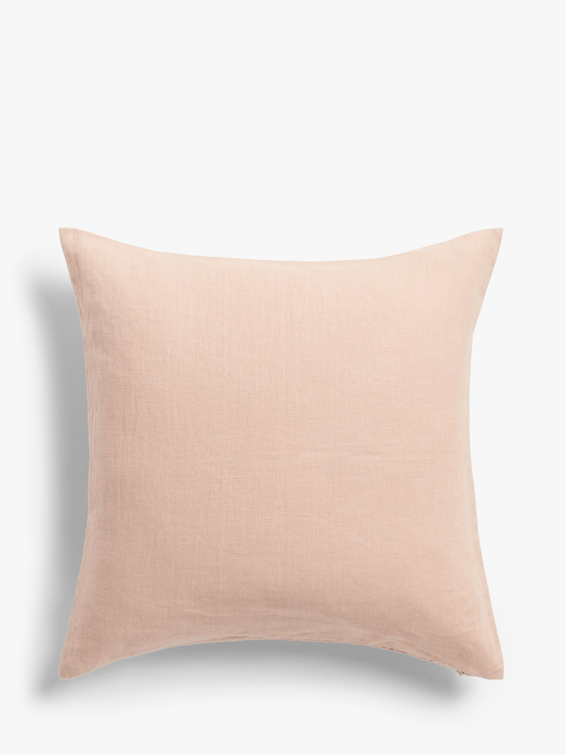 Buy John Lewis & Partners Linen Cushion, Plaster Online at johnlewis.com