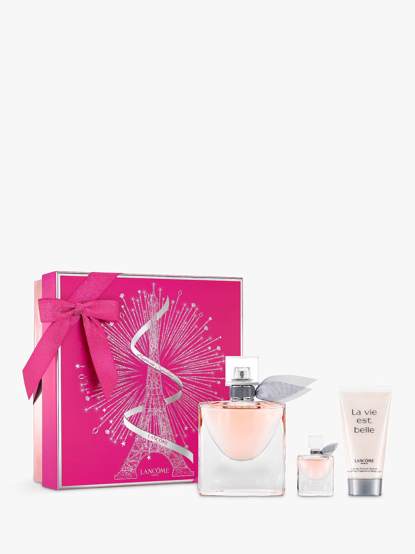 69a6a245006 Buy Lancôme La Vie Est Belle 50ml Eau de Parfum Fragrance Gift Set Online  at johnlewis ...