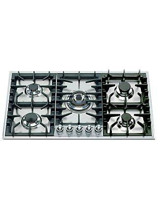 ILVE HP95C/I 90cm Gas Hob, Stainless Steel