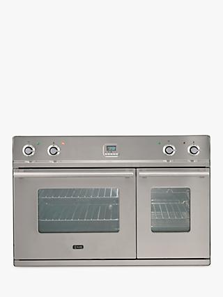 ILVE Roma D900WE3/I 90cm Double Built-In Electric Oven, A Energy Rating, Stainless Steel