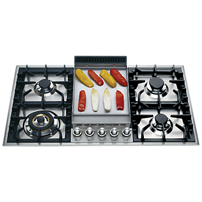 ILVE HP95FC/I 90cm Gas Hob, Stainless Steel