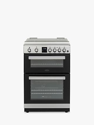 Belling FSG608DM Gas Cooker, A+ Energy Rating, Stainless Steel