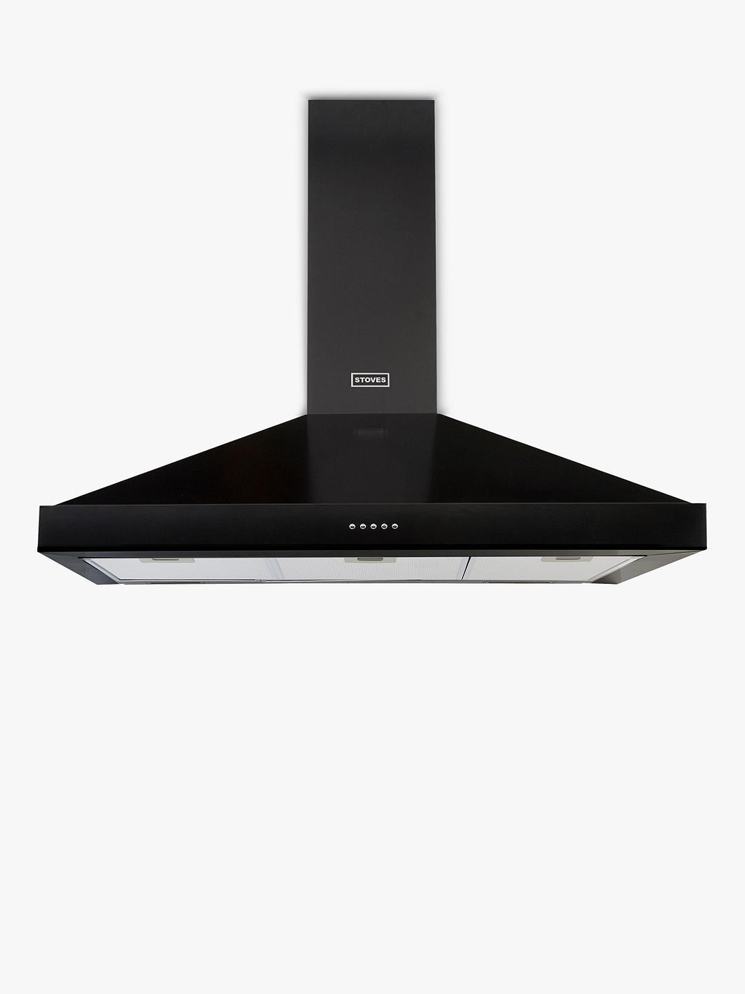 Buy Stoves S900 Sterling Cooker Hood, 90cm Wide, Black Online at johnlewis.com