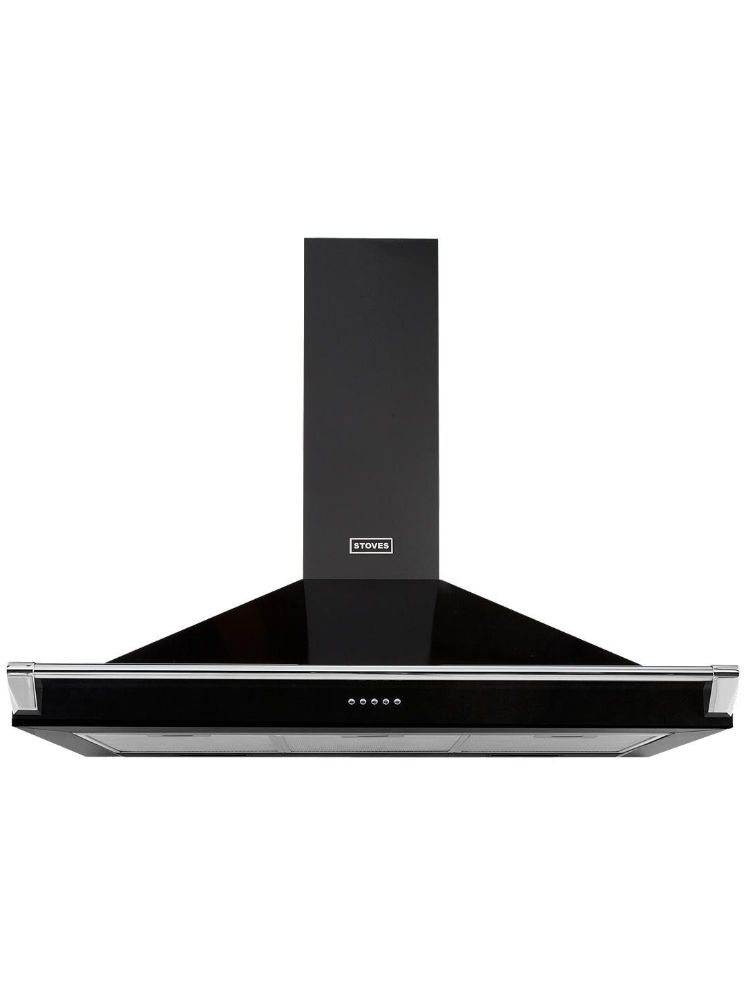 Buy Stoves S1100 Richmond Cooker Hood, 110cm Wide, Black Online at johnlewis.com